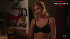 Laura Ramsey in Sexy Black Lingerie – Hindsight
