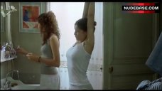 Laetitia Casta Pokies Through Top – Le Grand Appartement