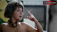 4. Tara Summers Boobs Scene – Factory Girl