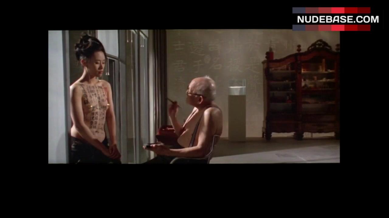 Vivian Wu Nude Good vivian wu small nude boobs – the pillow book (1:04)   nudebase