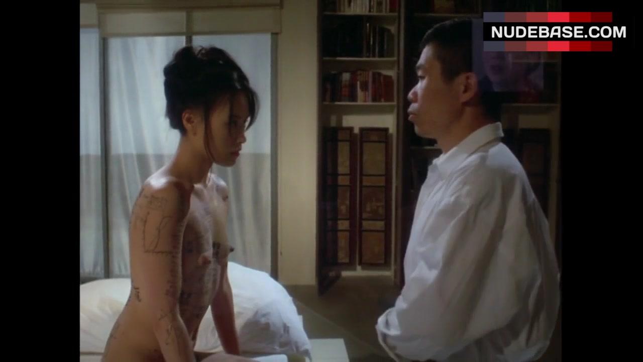 Vivian Wu Nude Classy vivian wu nude body painting – the pillow book (0:40)   nudebase