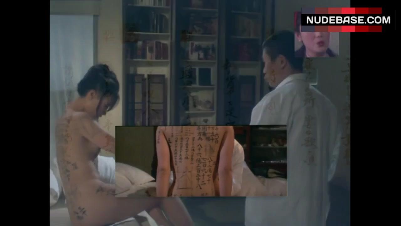 Vivian Wu Nude Cool vivian wu nude body painting – the pillow book (0:40)   nudebase