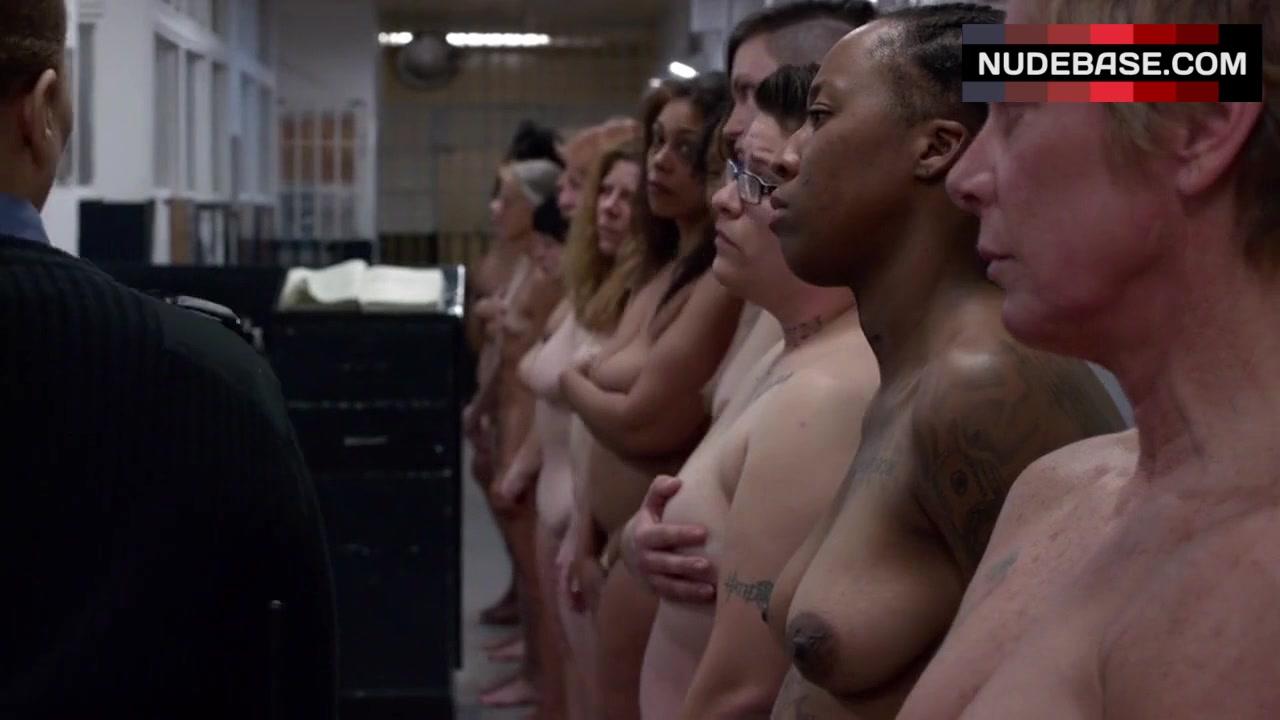 Prison naked black